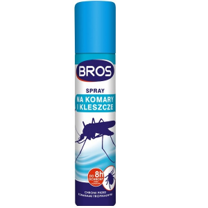 Bros Spray na komary i kleszcze, 90 ml