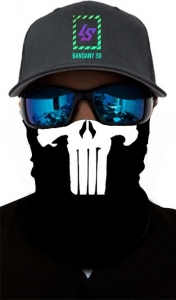 Bandana 3D - PUNISHER